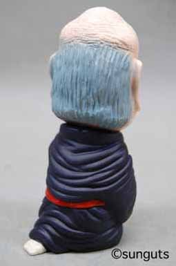 Specter figure by Shigeru Mizuki, produced by Sunguts. Back view.