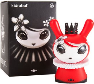 Mayari Red Dunny - Kidrobot Exclusive figure by Otto Bjornik, produced by Kidrobot. Packaging.