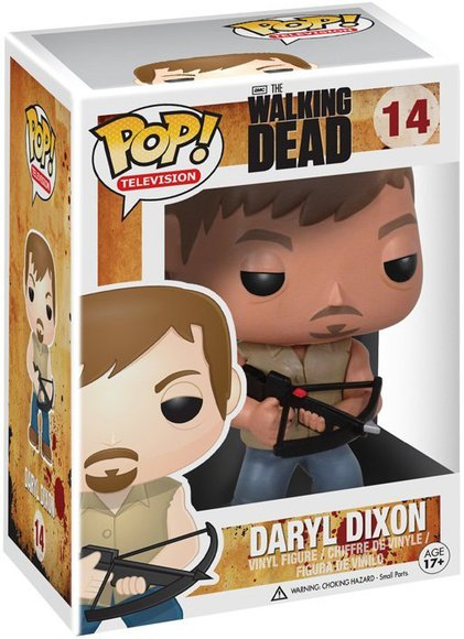 POP! The Walking Dead - Daryl Dixon figure by Funko, produced by Funko. Packaging.