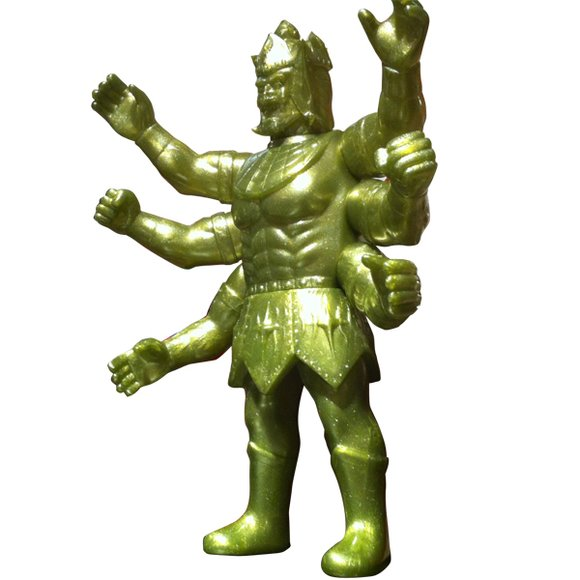 8-Style x Five Star Toy - Ashuraman 8-Style Gold ver. figure, produced by Five Star Toy. Front view.