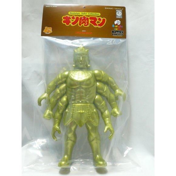 8-Style x Five Star Toy - Ashuraman 8-Style Gold ver. figure, produced by Five Star Toy. Packaging.