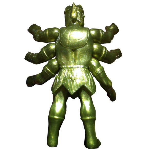 8-Style x Five Star Toy - Ashuraman 8-Style Gold ver. figure, produced by Five Star Toy. Back view.