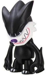 Fang Wolf Qee figure by Touma, produced by Toy2R. Front view.