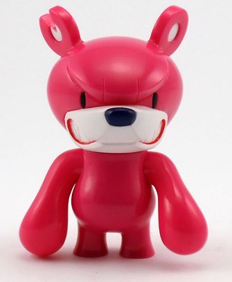 Baby KnuckleBear (ベビーナックルベア) - Pink figure by Touma, produced by Wonderwall. Front view.