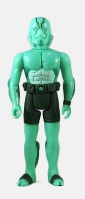 Abe Sapien figure by Super7, produced by Funko. Front view.