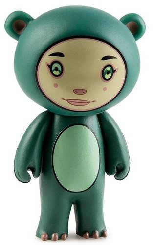 Ace figure by Tara Mcpherson, produced by Kidrobot. Front view.