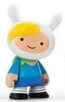 Adventure Time 3 Mini Series - Fionna figure, produced by Kidrobot. Front view.
