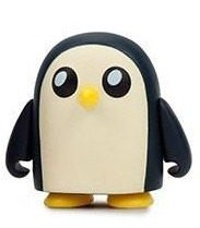 Adventure Time 3 Mini Series - Gunter figure, produced by Kidrobot. Front view.
