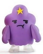 Adventure Time 3 Mini Series - Lumpy Space Princess figure, produced by Kidrobot. Front view.