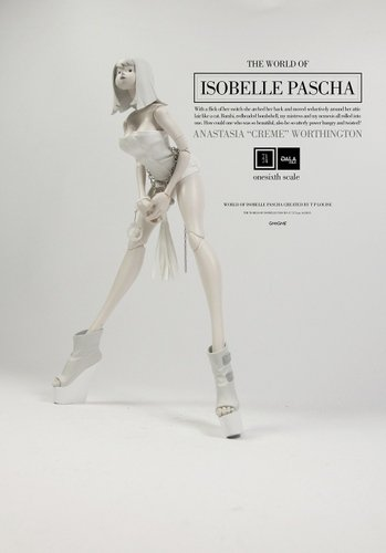 Anastasia Creme Worthington - Isobelle figure by Ashley Wood, produced by Threea. Front view.