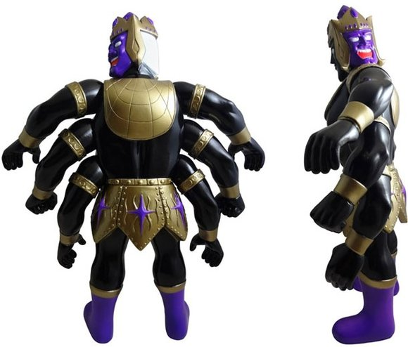 Ashuraman - Black Body Ver. figure, produced by Five Star Toy. Back view.