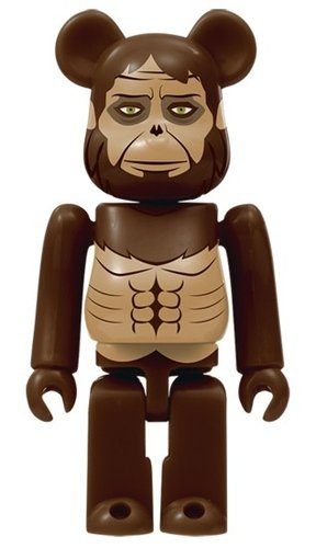 Attack on Titan - Beastly Titan BE@RBRICK figure, produced by Medicom Toy. Front view.