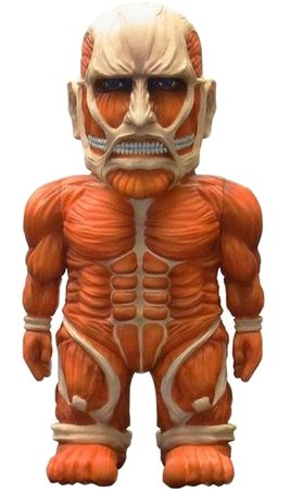 Attack on Titan - Colossal Titan  figure by Empty, produced by Empty. Front view.
