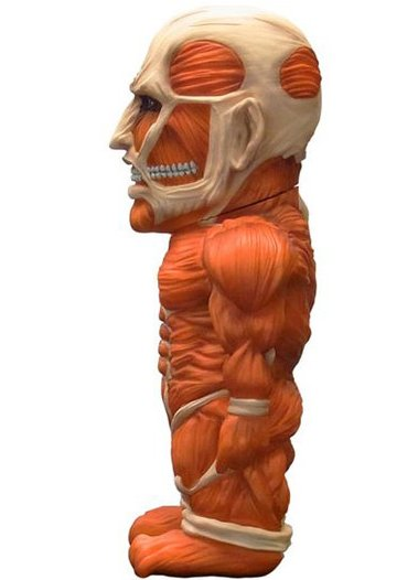 Attack on Titan - Colossal Titan  figure by Empty, produced by Empty. Side view.