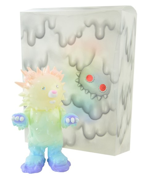 Baby inc 7th color - Pastel Rainbow (GID) figure by Hiroto Ohkubo, produced by Instinctoy. Packaging.