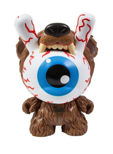 Bad News Dunny - Kodiak Edition 3 figure by Mishka, produced by Kidrobot. Front view.