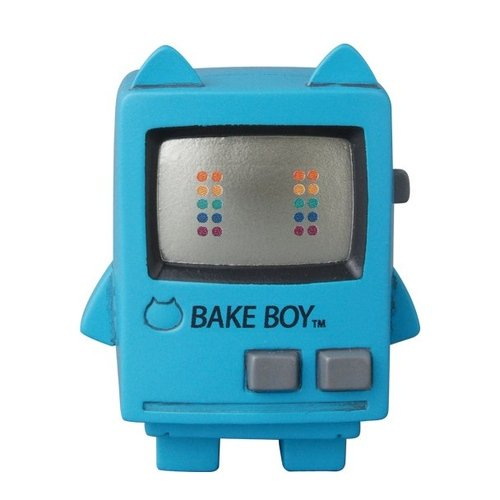 Bakeboy - Blue  figure by Baketan, produced by Medicom Toy. Front view.