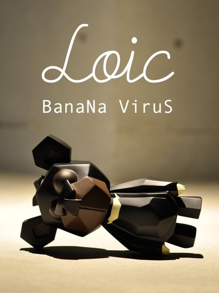 Loic - 1st Color figure by Banana Virus, produced by Instinctoy. Front view.