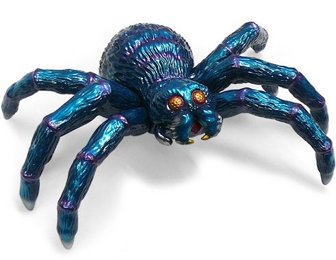 Baron Spider (クモ男爵) figure by Yuji Nishimura, produced by M1Go. Front view.
