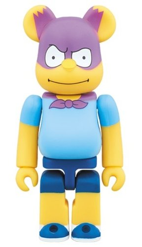BARTMAN BE@RBRICK 100% figure, produced by Medicom Toy. Front view.
