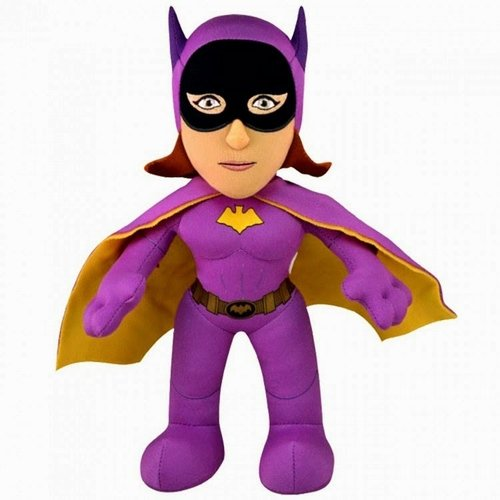 Batgirl figure by Dc Comics, produced by Bleacher Creatures. Front view.