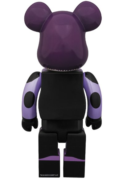 Hit Girl Be@rbrick 400% figure, produced by Medicom Toy. Back view.
