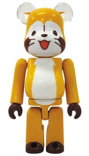 Be@rbick 30 – Cute (Rascal the Raccoon) figure, produced by Medicom Toy. Front view.
