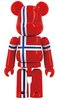 BE@RBRICK 29 - FLAG NORGE