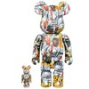 Be@rbrick Jean-Michel Basquiat 400% & 100%