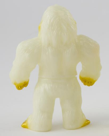 Bigfoot (ビッグフット) - GID figure, produced by Iwa Japan. Back view.