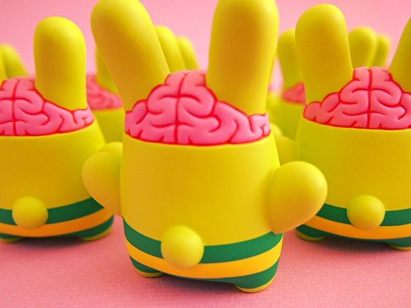 Billy Brains figure by Dolly Oblong. Back view.
