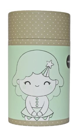 Birthday Girl (Mint) figure by Luli Bunny, produced by Momiji. Packaging.
