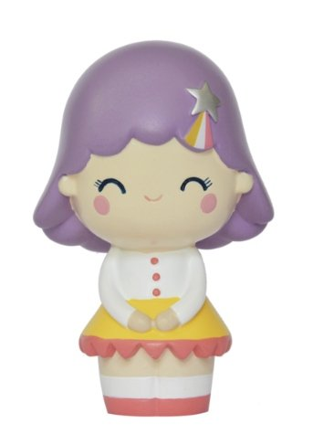 Birthday Girl (Lavender) figure by Luli Bunny, produced by Momiji. Front view.
