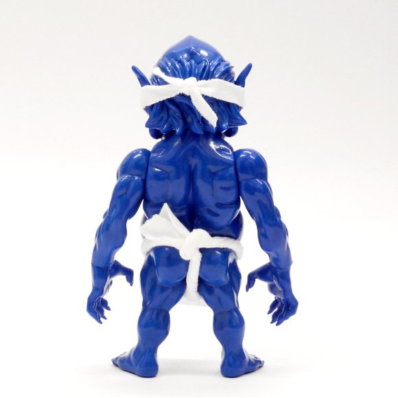 Debris Japan - SFB Blue figure by Junnosuke Abe, produced by Restore. Back view.