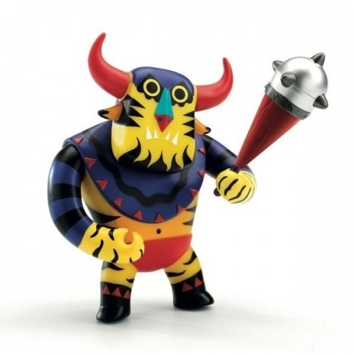 Brutus figure, produced by Djeco. Front view.