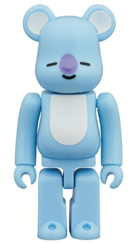 BT21 - KOYA BE@RBRICK 100% figure, produced by Medicom Toy. Front view.