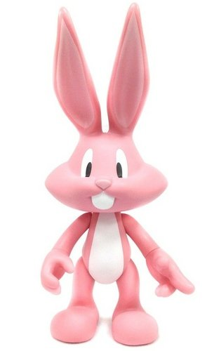 Bugs Bunny - Fancy Pink figure by Chuck Jones, produced by Artoyz Originals. Front view.