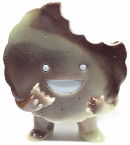 Foster - Cookies n' Cream figure by Brian Flynn, produced by Super7. Front view.