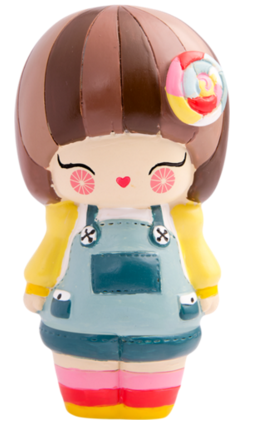 Darcie Dot figure by Momiji, produced by Momiji. Front view.