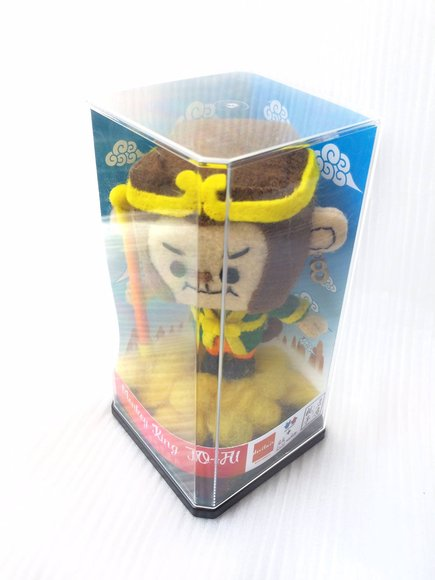 Devilrobots x Nachu Monkey King To-fu figure by Devilrobots, produced by Nachu. Packaging.