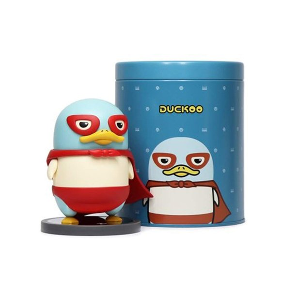 Duckoo Libre figure, produced by Chococider. Packaging.