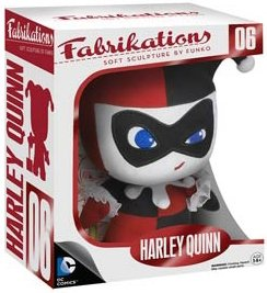 Fabrikations - Harley Quinn figure by Dc Comics, produced by Funko. Packaging.