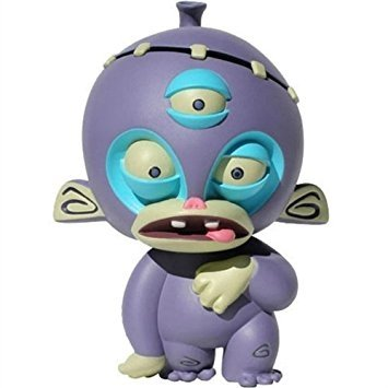 Franken Monkey - Purple figure by Roberto Juaregui, produced by Atomic Monkey. Front view.
