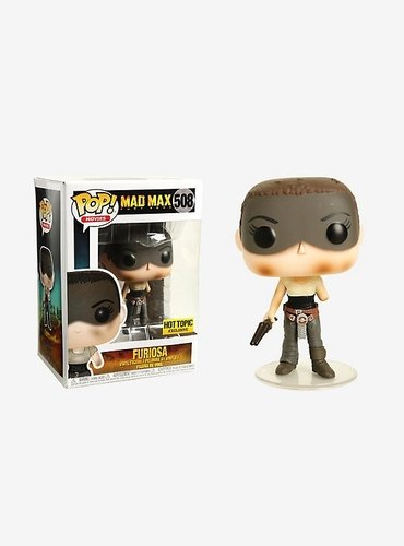 Furiosa - Hot Topic Exclusive figure, produced by Funko. Front view.