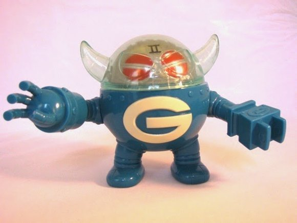 Gacha Dos figure by Gargamel, produced by Gargamel. Front view.