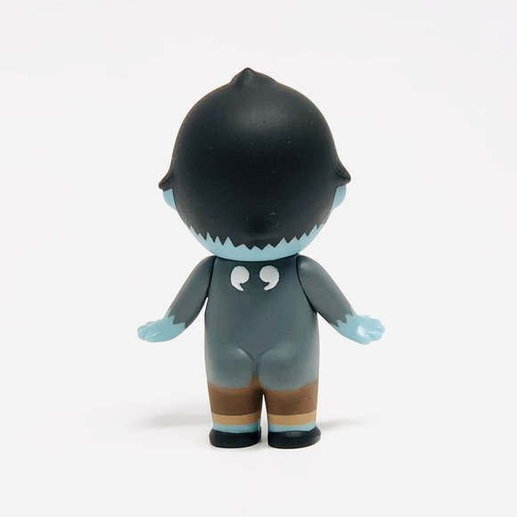 Gee Sorry Angel Series 2 - Franckenstein figure by Dreams Inc., produced by Dreams Inc.. Back view.