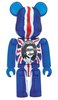 God Save The Queen Clear Ver. BE@RBRICK