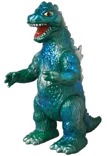Godzilla Bullmark Style figure by Toho Co., Ltd, produced by M1Go. Front view.