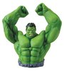 Green Hulk Arms Raised Bust Bank