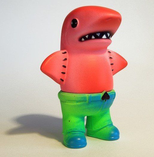 Green Sauce figure by Skinner. Front view.